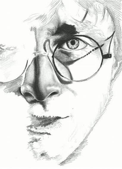 Potter Harry Pencil Drawing Drawings Sketches Sketch