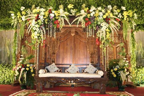 dekorasi pernikahan sederhana  bersahaja mahar