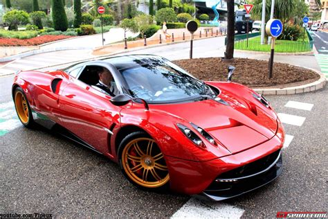 pagani huayra red video red pagani huayra with sonus faber sound system in