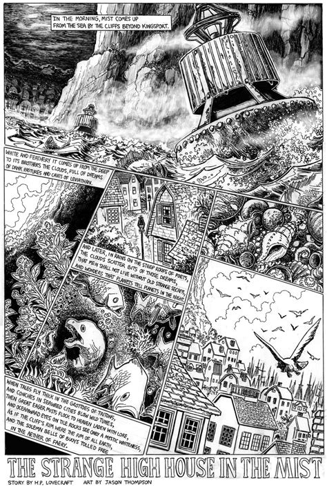 graphic novels based  lovecraft stories   read