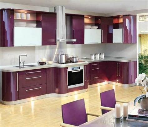 ideas  modern colorful kitchen decor