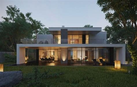 Modern Home Exteriors With Stunning Outdoor Spaces by Modern Home Exteriors With Stunning Outdoor Spaces Model
