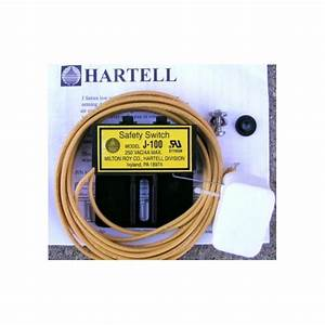J100 Hartell Low Voltage Secondary Drain Pan Safety Switch