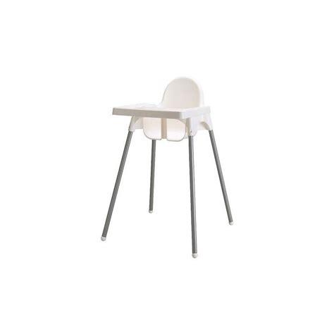 ikea siege bebe ikea chaise haute bébé antilop avec plateau blanc