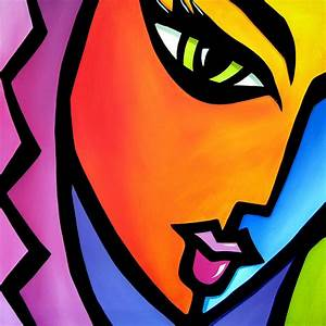 Pretending - Original Pop Art Painting by Tom Fedro
