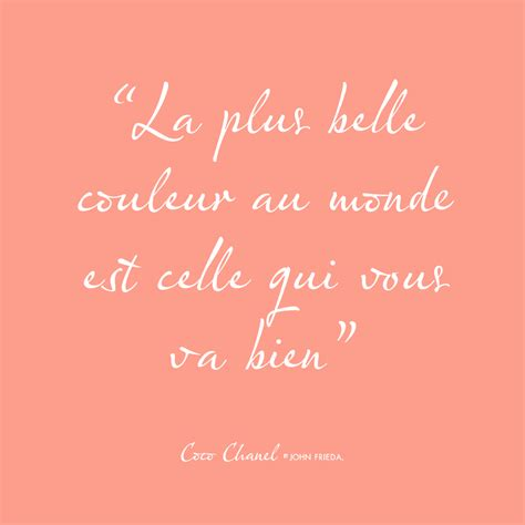 esprit frieda citation du jour de coco chanel