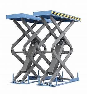 Pont Elevateur Ciseaux : pont ciseaux encastrable levage 2 13m pour vl fourgon et 4x4 ~ Medecine-chirurgie-esthetiques.com Avis de Voitures