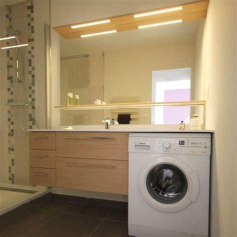 meuble de salle de bain meubles avec lave linge integre