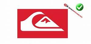 Square in White Red Triangle Logo - LogoDix