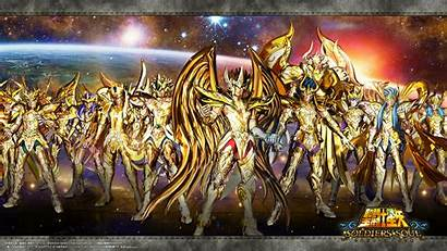 Seiya Saint Gold Soul Wallpapers Saints Soldiers