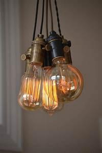 Suspension Ampoule Vintage : fabriquer une suspension id es cr atives et instructions ~ Teatrodelosmanantiales.com Idées de Décoration