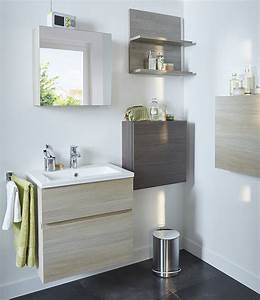 14 astuces gain de place pour une petite salle de bains With meuble salle de bain calao