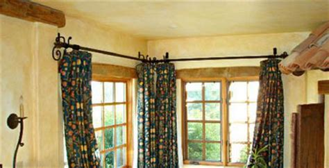 Drapery Hardware For Bay Window by Wrought Iron Drapery Hardware Paso Robles Ironworks