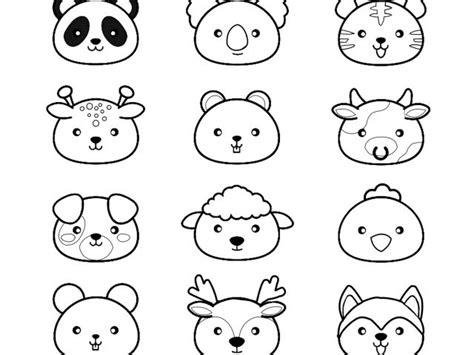 disegni kawaii da stare immagini kawaii da colorare e stare migliori pagine