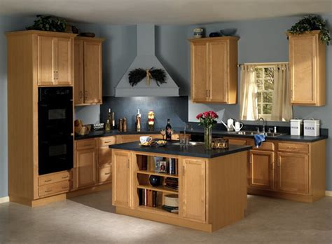 Woodstar Seacrest Birch Cabinets by Quality Cabinets Woodstar Series Contemporary