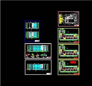 School building construction plans Free download AutoCAD