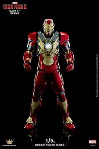 Iron Man 3: 1/9 Scale Iron Man Mark XVII Heartbreaker ...