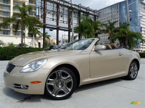 2008 Lexus Convertible by 2008 Lexus Sc 430 Convertible In Golden Almond Metallic