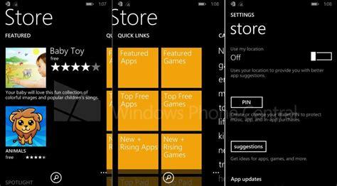 microsoft windows phone 8 1 screenshots zeigen neuen app store cnet de
