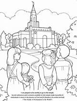 Coloring Lds Church Pages Temple Primary Children Activities Temples Drawing Printable Building Games Prepare Activity Colouring God General Sheets Clipart sketch template