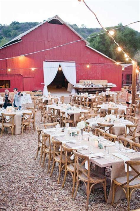 Fall Wedding Ideas For A Backyard Barnhouse Country