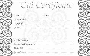 gift certificate template download free premium With gift certificate templates for mac