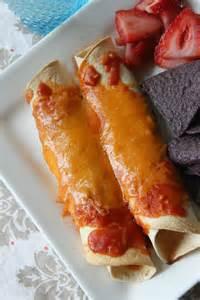 Homemade Chicken Enchiladas with Sauce