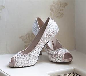 beautiful bridal shoes to match your gown easy weddings uk With wedding dress with sneakers