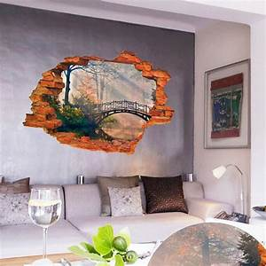 Super Deal 3D Mirkwood 3D Window View Removable Wall ...