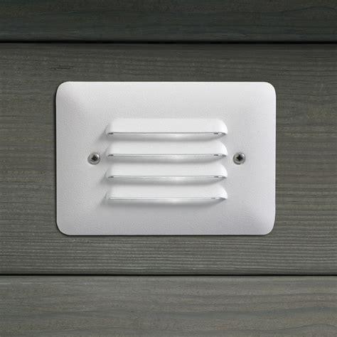 kichler 15072wht outdoor 12v recessed step light