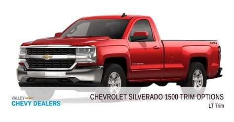 Chevy Silverado Trims by All 2018 Chevrolet Silverado 1500 Trim Levels Compared