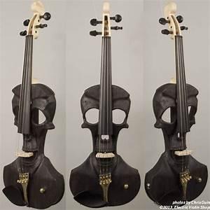 Instruments - Gallery - Skull Violin