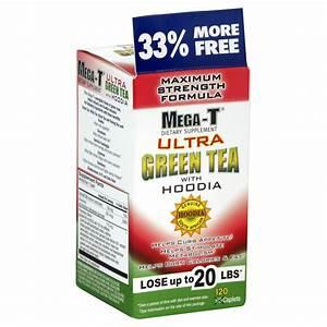Mega-t Green Tea  Ultra  Maximum Strength Formula  Caplets  120 Caplets