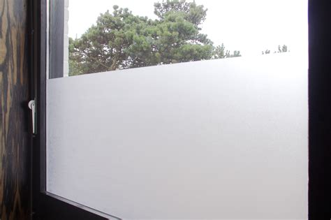 Fensterfolie Sichtschutz Milchglas by Fensterfolie Milchglas Haus Ideen