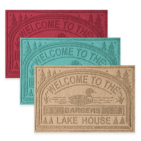 Welcome To The Lake Doormat by Weather Guard Quot Welcome To The Lake House Quot 30 Inch X 45
