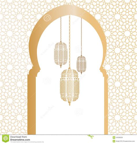 Arabic Vector Illustration Stock Vector   Image: 54506535