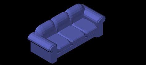 sofa 3 plazas dwg bloques autocad gratis de sof 225 3 plazas en 3d modelo 01
