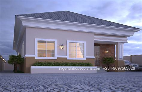 bedroom bungalow ref nos nigerianhouseplans