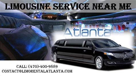 Limo Rental Service Near Me by Limousine Service Near Me Limo Rental Atlanta