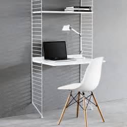 bureau string bureau étagères blanc blanc string mobilier smallable