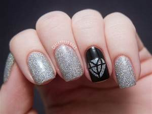 interesting silver nail designs to copy now fashionsy
