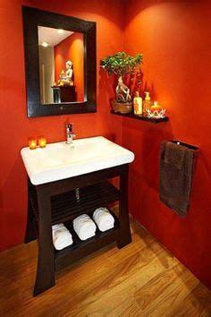 Orange Bathroom Wall Decor by 78 Best Orange Bathrooms Images On Orange