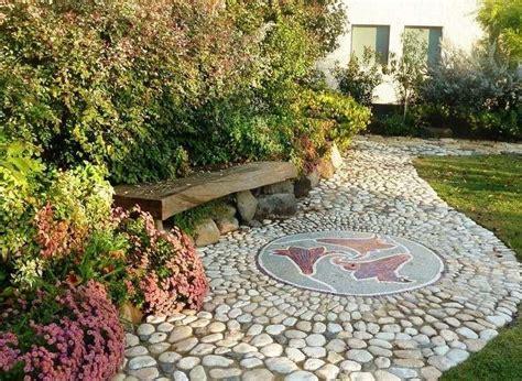 Allee De Jardin En Galet D 233 Co Jardin Avec Mosa 239 Que En 28 Beaux Exemples