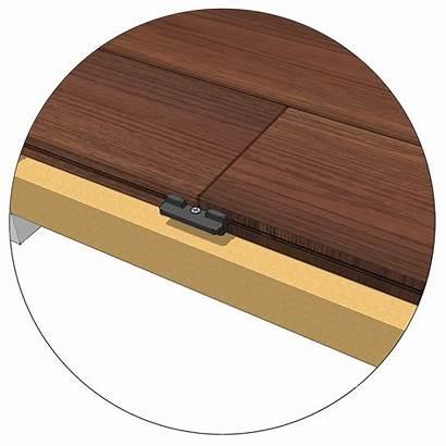 Butt Joint Joints Deck Block 45mm Underneath