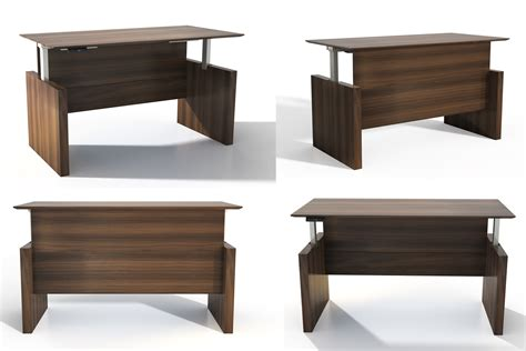 medina series height adjustable desks buy rite business