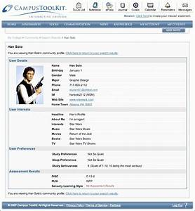 personal profile sample student c45ualwork999org With html templates for personal profile