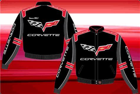 chevy corvette mens twill jacket  jh design