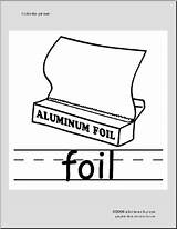 Foil Coloring Phonics Aluminum Abcteach Language sketch template