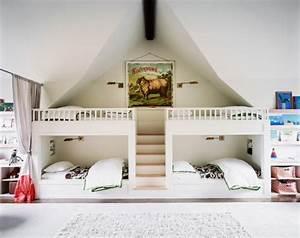 Lit Enfant 4 Ans : am nagez un dortoir pour les enfants dans votre maison de vacances ~ Teatrodelosmanantiales.com Idées de Décoration
