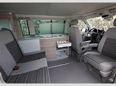 VW California zdjęcia wnętrza